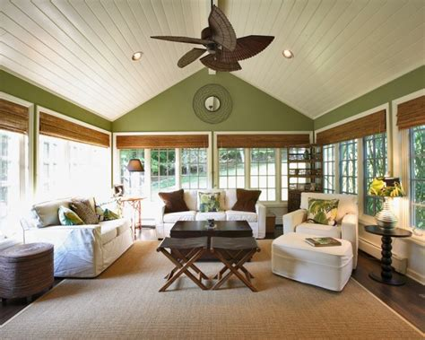 rustic style sunrooms