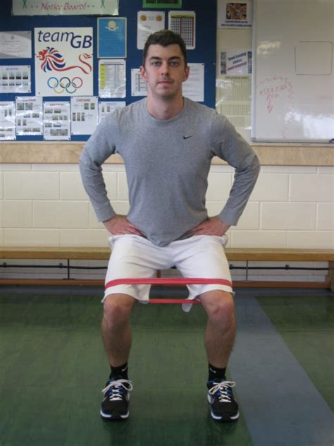 resistance band hip abduction  exercisejpg