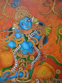 ദ വകല mural paintings mural painting krishna