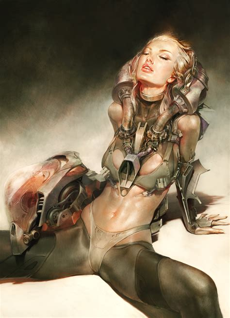 The Beautiful Sci-Fi Art of Christophe Young   Fantasy Artist