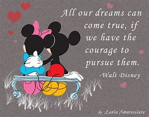 Mickey Mouse And Minnie Love Quotes. QuotesGram