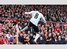 Liverpool 12 Manchester United Juan Mata nets double to