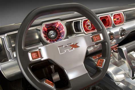 hummer hx concept interior car body design