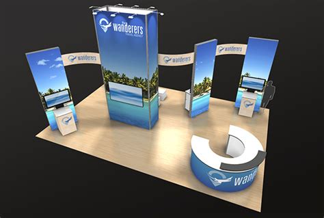trade show booths exhibits  displayit