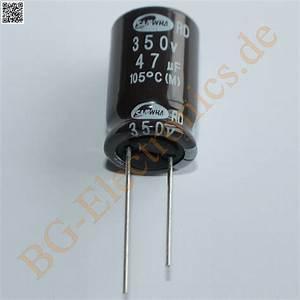 Schaltkreise Berechnen : 5 x 47 f 47uf 350v 105 rm7 5 elko kondensator capacitor ~ Themetempest.com Abrechnung