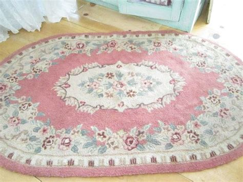 simply shabby chic braided rug reserved kelly fabulous shabby chic pink wool latch hooked rug with roses and scrolls shabby