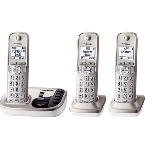 Panasonic KX-TGD223N Dect 6.0 PLUS Expandable Digital ...