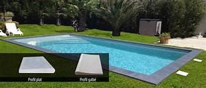 Margelle Piscine Grise : margelles et dallage la finition pour votre piscine ~ Melissatoandfro.com Idées de Décoration