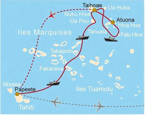 les iles marquises carte les marquises voyage arts et voyages