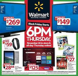 walmart black friday 2016 ad deals sales