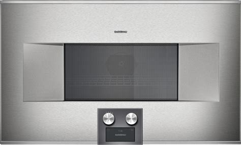 gaggenau  series built  microwave stainless steel bm friedmans appliance