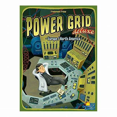 Grid Power Deluxe America North Europe Board