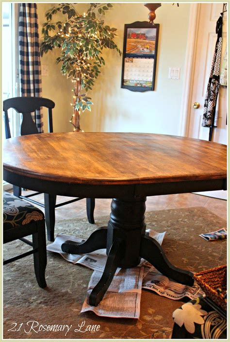 21 rosemary freshened up kitchen table and chairs