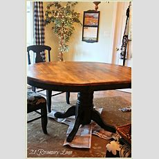 21 Rosemary Lane Freshened Up Kitchen Table And Chairs