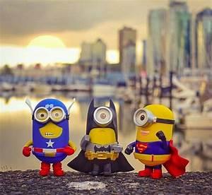 captain minion batmin and supermin minions wallpaper