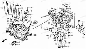 Honda Motorcycle 1985 Oem Parts Diagram For Crankcase