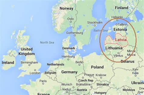 Where Is Latvia