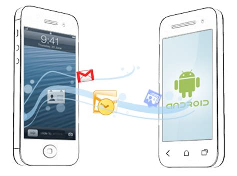transfer from android to iphone how to transfer data from iphone to android iphone to