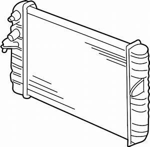 Cadillac Deville Radiator  Cooling  Make  System