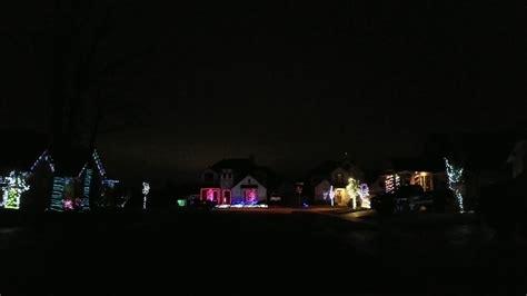 christmas lights 6 houses synced boerne youtube