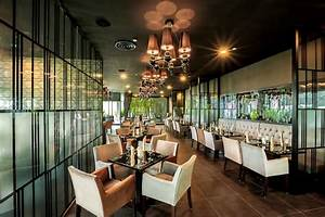 Joie Restaurant Contemporary Chic Interiors With Pretty