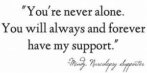 I Will Support You Quotes. QuotesGram