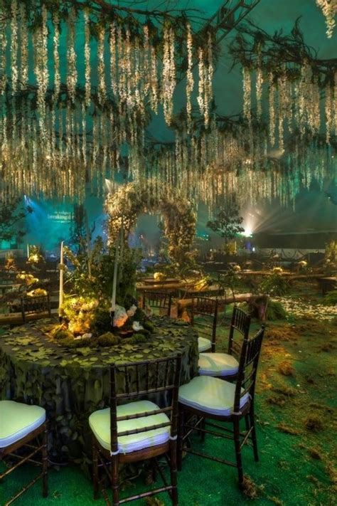 enchanted forest wedding theme  dream theme weddings