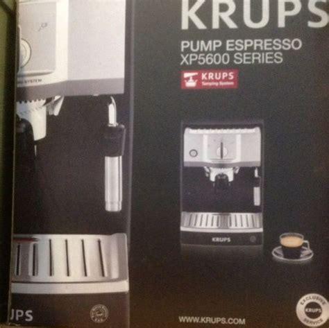 Krups Pump Espresso XP5600 Series, Home Appliances on