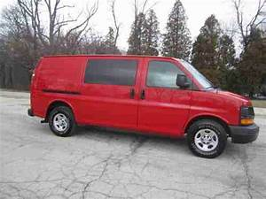 Sell Used 08 Chevy Express 1500 4 3l V6 Auto A  C Cargo Van Fleet Maintained Runs Great   In