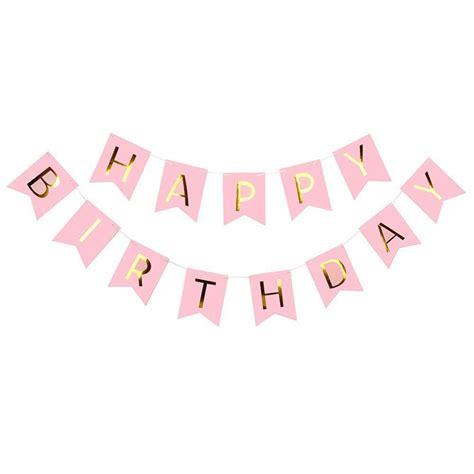 happy birthday bunting banners bellechic