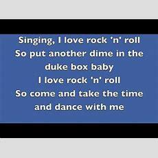 Britney Spears I Love Rock 'n' Roll Lyrics Youtube