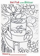 Coloring Famous Pages Artists Matisse Henri Painting Artwork Yarn Artist Teacherspayteachers Paintings Fish Gogh Van Smart Plastique Mosaic History Patterns sketch template