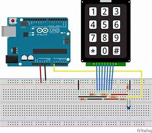 Arduino Keypad With 1 Analog Pin  U2013 Ziggy U0026 39 S Of The World
