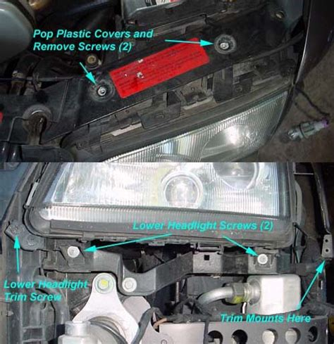 replacing headl glass on 97 pre facelift audiworld forums