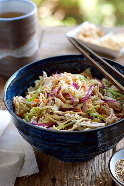 chinese chicken salad recipetin eats