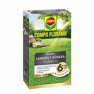 Compo Koniferen Langzeit Dünger : compo floranid rasen langzeit d nger perfektion compo ~ Frokenaadalensverden.com Haus und Dekorationen