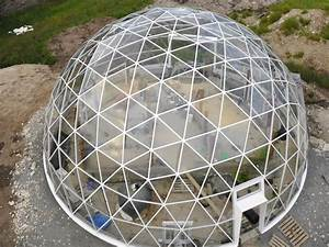Solar Geodesic Dome-Covered Cob House Rises in the Far ...