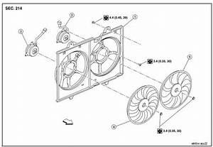 Nissan Rogue Service Manual  Cooling Fan