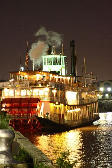 Mississippi River Boat Cruise In New Orleans by Riverboat Natchez On The Mississippi In New Orleans