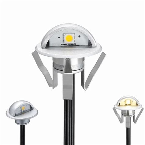 fvtled pack of 10 low voltage led deck lights kit outdoor