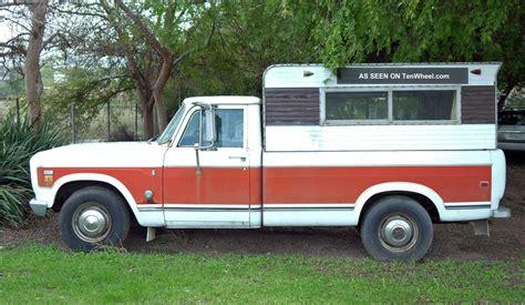 international  camper special dual fuel tank