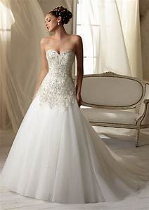 timeless beaded embroidery on net wedding dress style With timeless wedding dresses