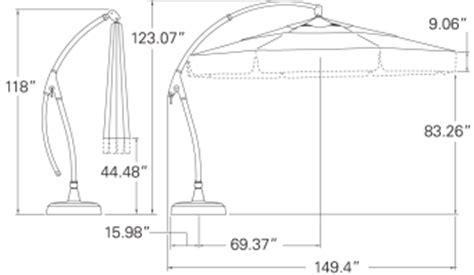 a honu product treasure garden patio umbrella