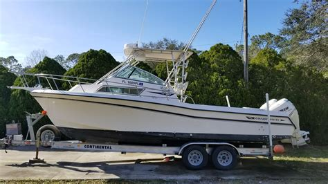 Sailfish Boats Canada by 1995 Grady White 272 Sailfish Augustine Florida