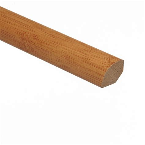 quarter molding home depot zamma traditional bamboo dark 5 8 in thick x 3 4 in wide x 94 in length vinyl quarter round