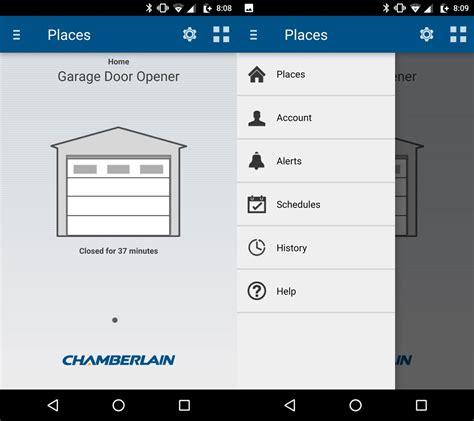 chamberlain wi fi garage door opener review operate