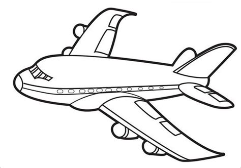 airplane template 18 airplane coloring pages pdf jpg free premium templates