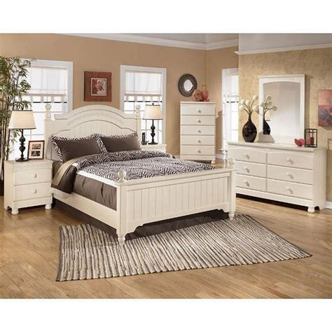 Cottage Bedroom Set by Cottage Retreat Poster Bedroom Set By Signature Design By