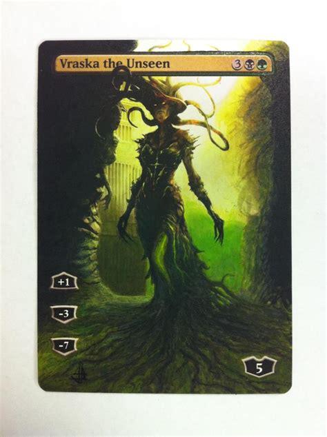 vraska the unseen deck modern vraska the unseen alter by jb alterz 41