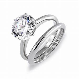 engagement and wedding ring sets weneedfun With weddings rings set